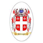 Billings Sticker (Oval 10 pk)