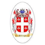 Billings Sticker (Oval 50 pk)