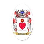 Billinghurst Oval Car Magnet
