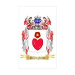 Billinghurst Sticker (Rectangle 10 pk)