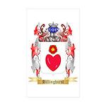 Billinghurst Sticker (Rectangle 50 pk)