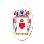 Billinghurst 35x21 Oval Wall Decal