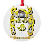Billingham Round Ornament