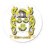 Billingham Round Car Magnet
