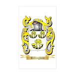 Billingham Sticker (Rectangle 10 pk)