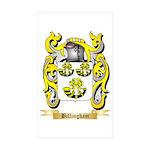 Billingham Sticker (Rectangle 50 pk)