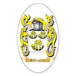 Billingham Sticker (Oval 50 pk)