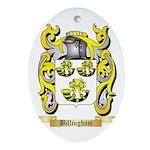 Billingham Ornament (Oval)