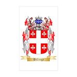 Billinge Sticker (Rectangle 50 pk)