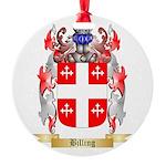 Billing Round Ornament