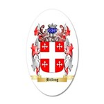 Billing 20x12 Oval Wall Decal