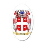 Billing 35x21 Oval Wall Decal