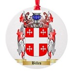 Billes Round Ornament