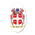 Billes 20x12 Oval Wall Decal