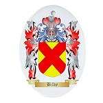 Bilby Ornament (Oval)