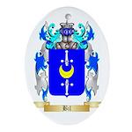 Bil Ornament (Oval)