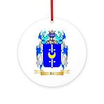 Bil Ornament (Round)