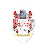 Bignell Oval Car Magnet