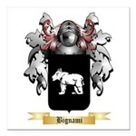 Bignami Square Car Magnet 3