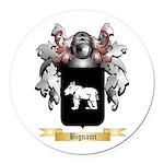 Bignami Round Car Magnet