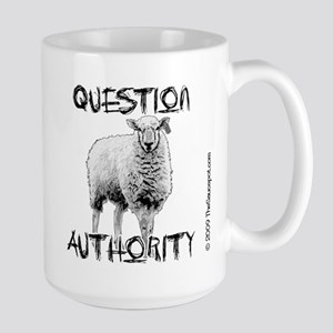question_authority_mug Mugs