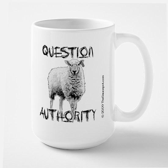 question_authority_mug Mugs