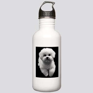 Beau the Beautiful Bichon Stainless Water Bottle 1