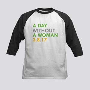 A DAY WITHOUT A WOMAN 3.8.17 Baseball Jersey