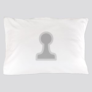 Chess Piece Pawn Pillow Case