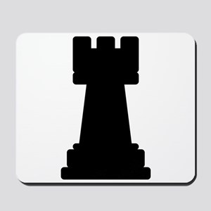Chess Piece Rook Mousepad