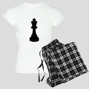 Black King Chess Piece Pajamas