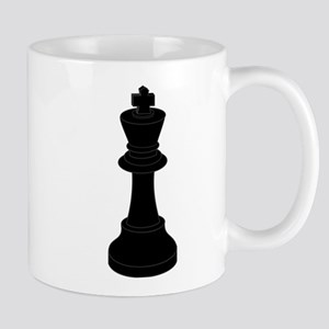 Black King Chess Piece Mug