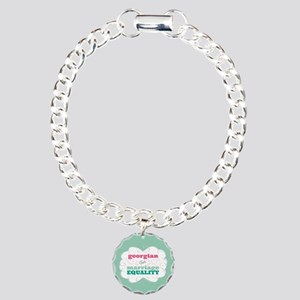 Georgian for Equality Bracelet