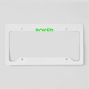 poker License Plate Holder