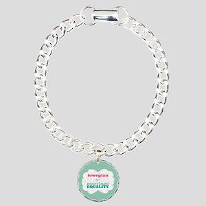 Iowegian for Equality Bracelet