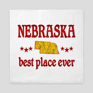 Nebraska Best Queen Duvet