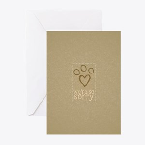 Pet Loss Sympathy From Group Greeting Cards (Pk of