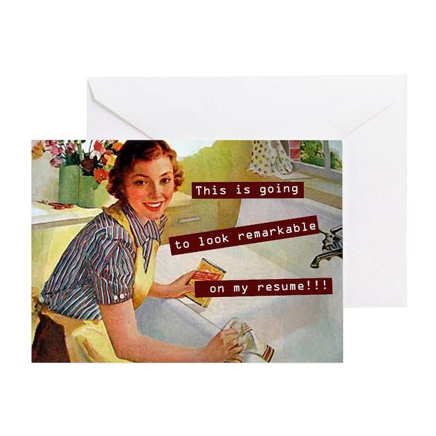 Funny Vintage Greeting Card By Antiquitees