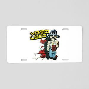 Vato Loco Aluminum License Plate