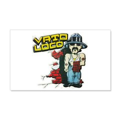 Vato Loco Wall Decal