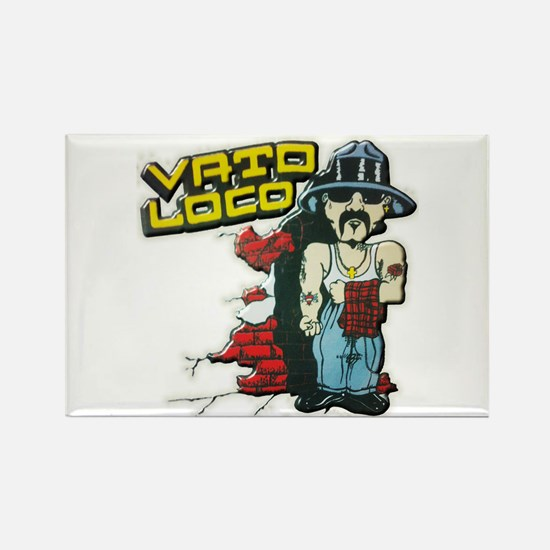 Vato Loco Rectangle Magnet