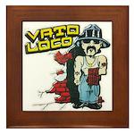 Vato Loco Framed Tile
