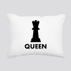 Chess Queen Rectangular Canvas Pillow
