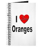 I Love Oranges Journal