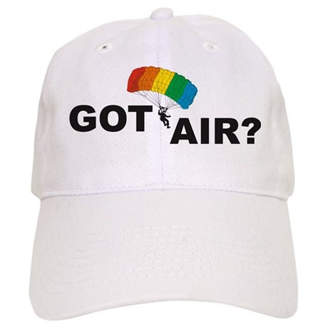 Got Air? Sky Dive Rainbow Cap