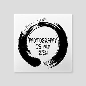 Photography is my Zen-1 Sticker