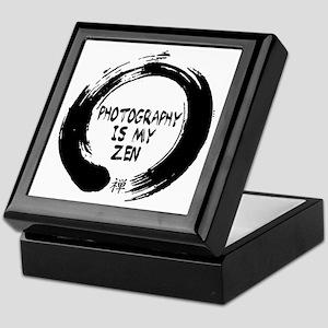Photography is my Zen-1 Keepsake Box