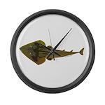 Guitarfish Ray fish Large Wall Clock