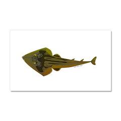 Guitarfish Ray fish Car Magnet 20 x 12