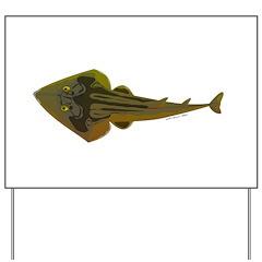 Guitarfish Ray fish Yard Sign